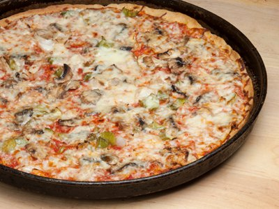 Pizza Thin Crust Veggie