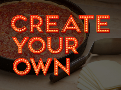 Pizza Deep Dish Create Your Own