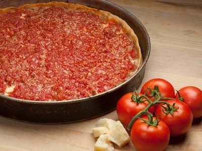 Pizza Deep Dish Sausage